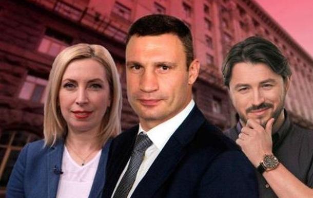 Кандидаты в мэры Киева: кто они?
