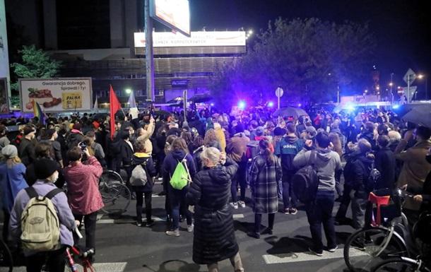 У Польщі спалахнули протести проти заборони абортів
