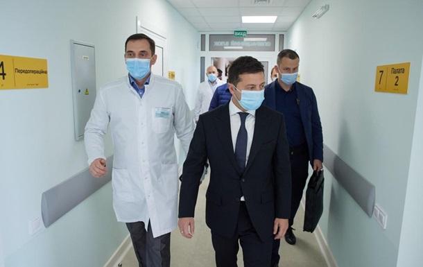 Зеленський заявив про створення п яти медмістечок