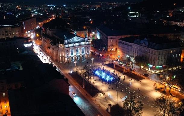 У Львові відкрили фонтан з азбукою Морзе