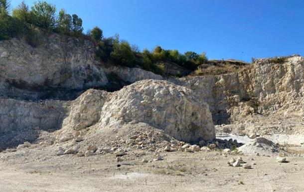 В Винницкой области незаконно добыли известь на 150 млн гривен