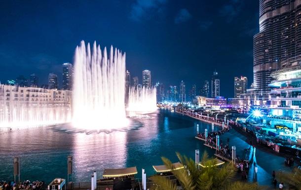 У Дубаї відкрили найбільший у світ фонтан