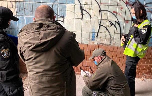 У Києві підірвали гранату біля офісної будівлі