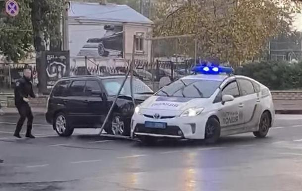 В Одессе водитель-наркоман устроил несколько ДТП