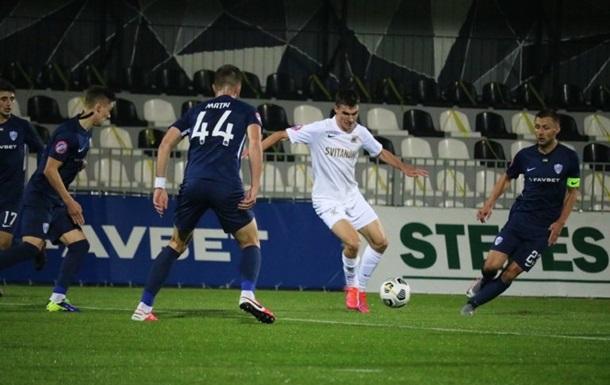 Колос и Минай в результативном матче сыграли вничью