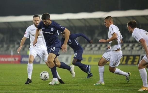 Колос - Минай 2:2 Видео голов и обзор матча чемпионата Украины