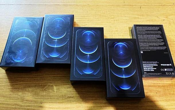 Пограничники выявили первую контрабанду iPhone 12