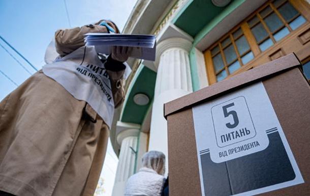 Опитування Зеленського проігнорувала третина виборців