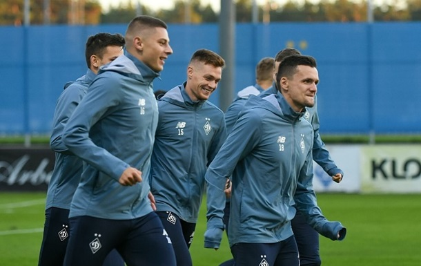 Динамо прибыло в Будапешт на матч с Ференцварошем