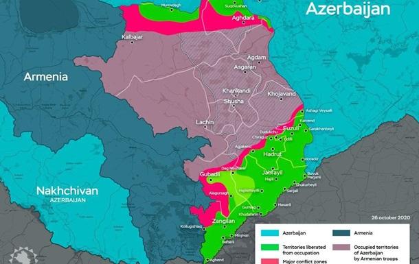 Итоги за месяц Нагорно-Карабахской войны 2.0