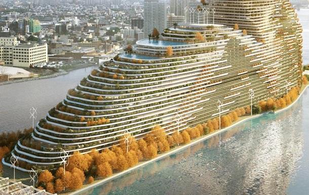 Хмарочос майбутнього: в Нью-Йорку побудують житловий будинок, що поглинає вуглец