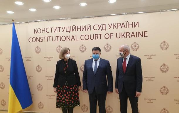 Глава КСУ встретился с послами Штатов и Евросоюза