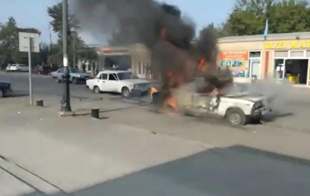 В Азербайджані місто піддалося ракетному обстрілу