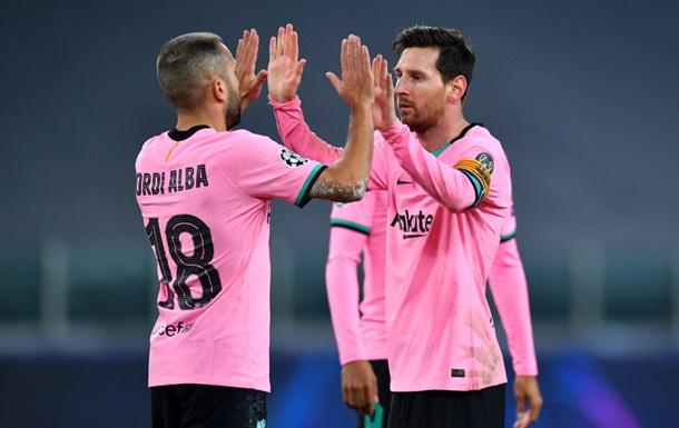 Барселона упрочила свое лидерство в группе, обыграв Ювентус