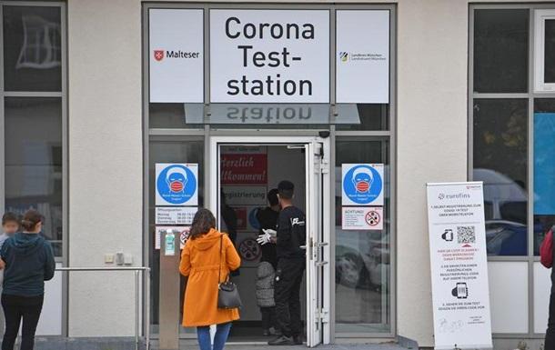Коронавірус у Німеччині: рекордні 16,8 тисячі випадків зараження