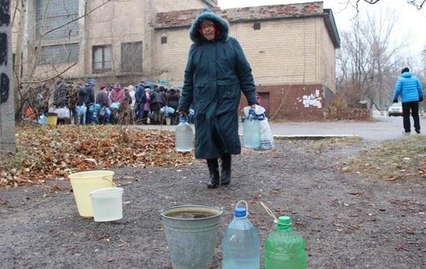 Более 75 тысяч жителей Донецкой области вторые сутки остаются без воды