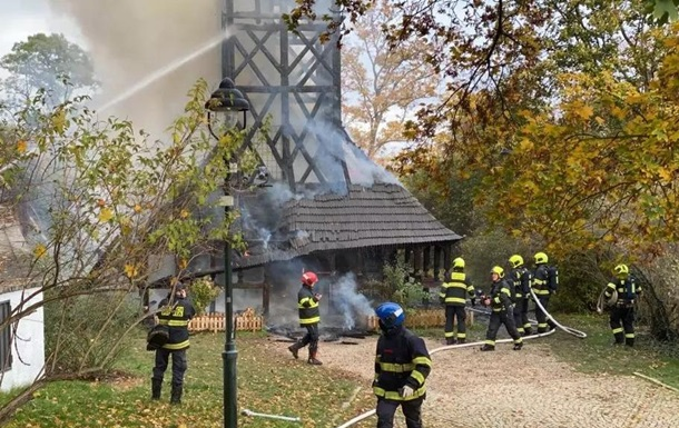 В Чехии сгорела уникальная украинская церковь