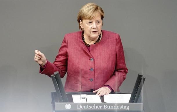 Меркель: У Німеччині готуються до вакцинації від коронавірусу