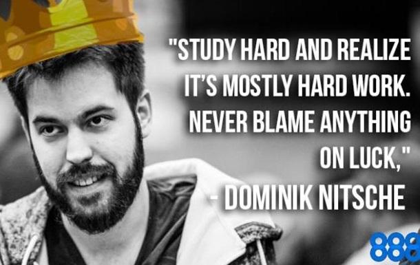 Доминик Ницше получил лучший подарок на день рождения, выиграв 888Millions