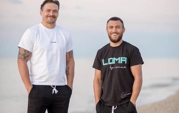 Усик: Ломаченко мотивирует меня