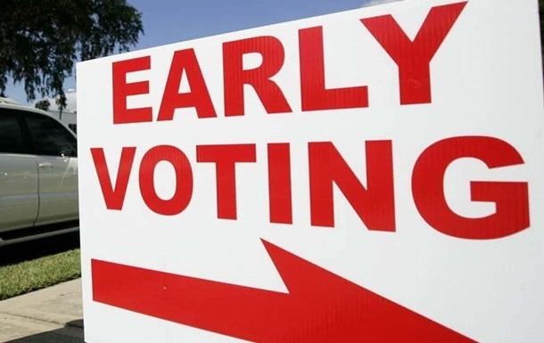 Понад 81 млн американців проголосували достроково на загальних виборах