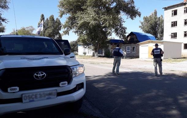 Сепаратисты задержали патруль ОБСЕ