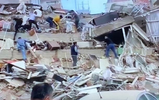 У Туреччині стався потужний землетрус