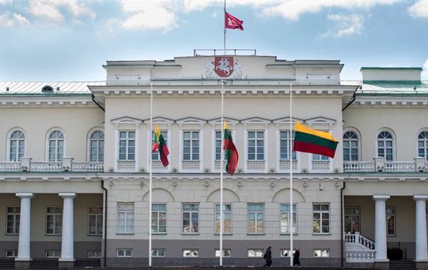 Литва выразила протест Беларуси