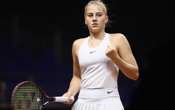 Костюк вышла в четвертьфинал турнира в Тайлере