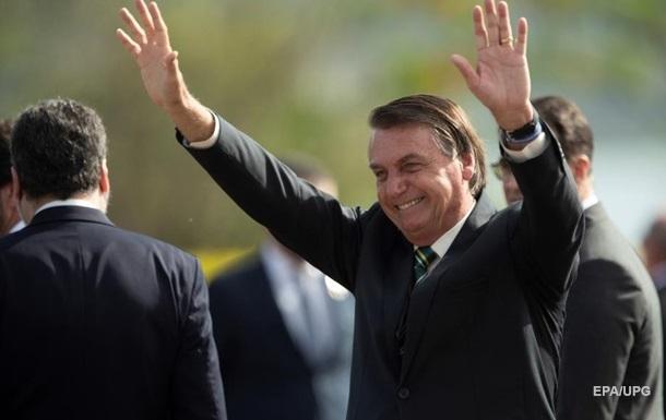 Президент Бразилії заявив про швидкий кінець пандемії