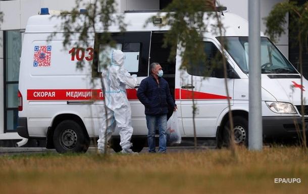 В России рекорд заражений коронавирусом за сутки
