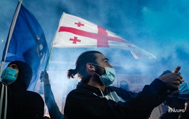 У Грузії почалися протести через вибори
