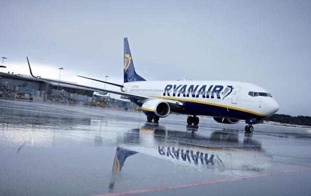 Ryanair за полгода потеряла более €400 млн