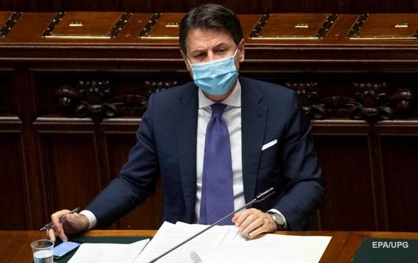 Италия введет новые ограничительные меры из-за пандемии