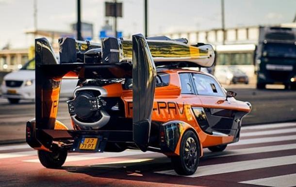 У Нідерландах з явився літаючий автомобіль