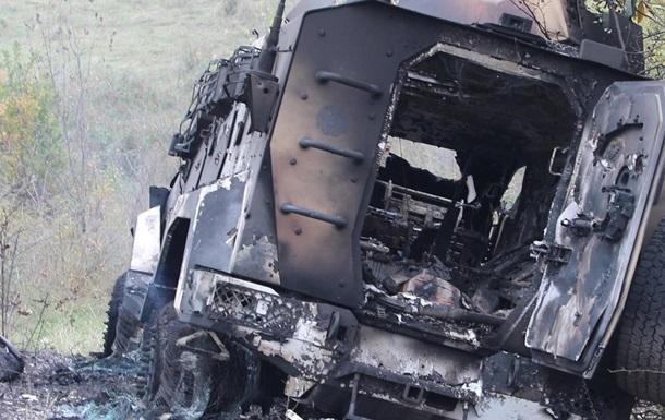 Опубликовали фото разбитой техники Азербайджана