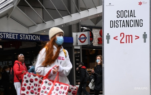 В Великобритании зафиксировали рекордное число смертей от COVID-19