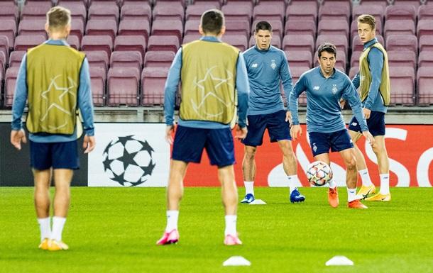 Стало відомо, в якій формі Динамо зіграє проти Барселони