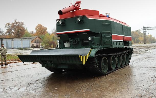 ЗСУ отримали модернізовані пожежні танки