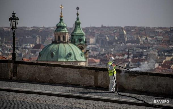 В Чехии новый рекорд смертности от коронавируса