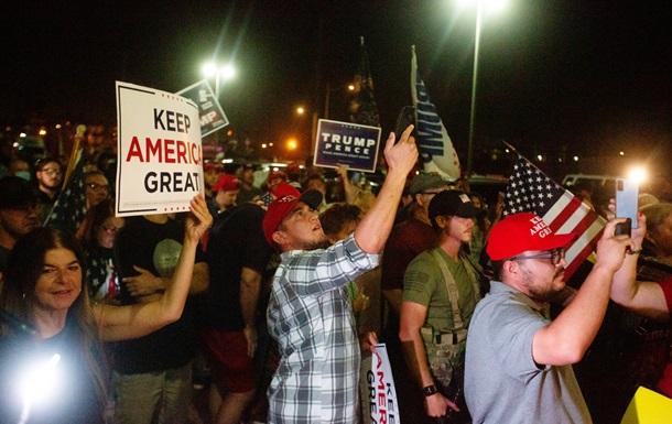 Выборы в США: в Аризоне начались протесты