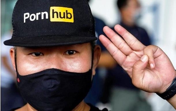 В Таиланде вышли на протест из-за запрета PornHub