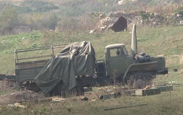 Азербайджан показал трофейную военную технику