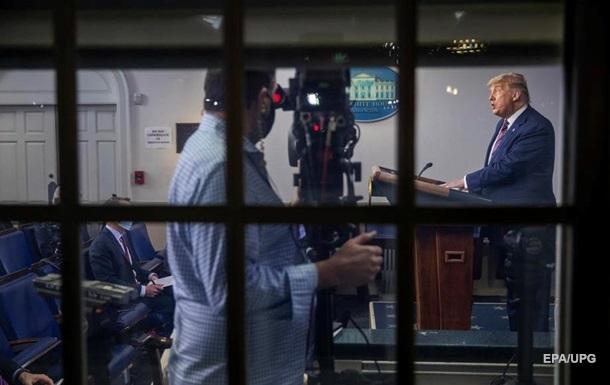 Телеканалы США оборвали выступление Трампа из-за лжи