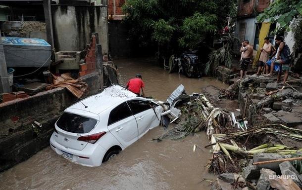 Бразилию накрыло мощное наводнение