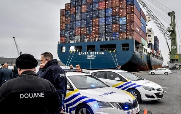 В Бельгии нашли кокаин на €1 млрд