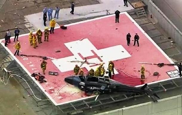 В разбившемся вертолете в США чудом уцелело донорское сердце