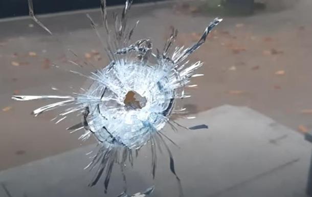 Опубликовано видео стрельбы по консульству Азербайджана в Харькове