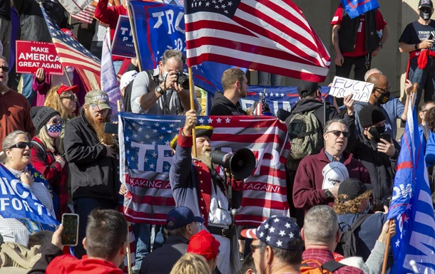В США продолжаются протесты сторонников Трампа