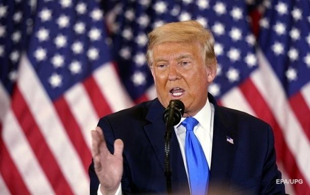 Трамп вновь заявил о фальсификациях на выборах